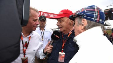 Brundle's tribute to Niki Lauda