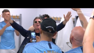Noel and City celebrate with Wonderwall