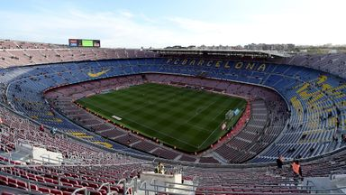 Catalans v Wigan at the Nou Camp