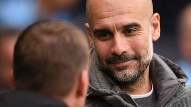 Pep praises Leicester under Rodgers