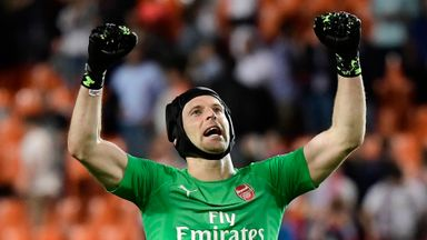 Xhaka: Cech deserves big sendoff in EL