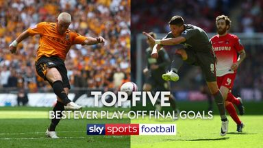 Top 5 best ever Play-Off Final goals