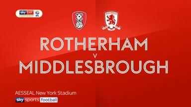 Rotherham 1-2 Middlesbrough