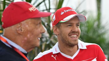 Vettel: Lauda a big loss to F1