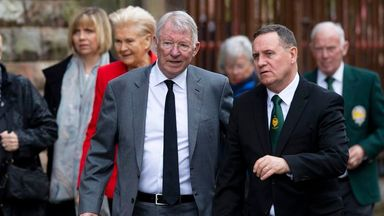 Greats gather for McNeill funeral
