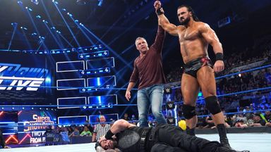McMahon uses Wild Card Rule to his advantage