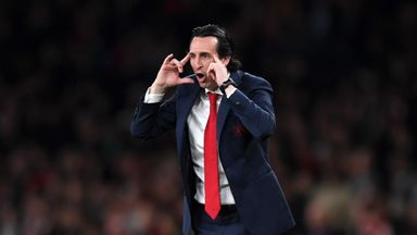 Emery: Nerves no issue for Arsenal