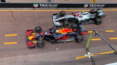 Verstappen-Bottas pit-lane drama