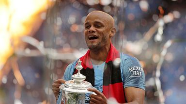 Kompany honoured with testimonial