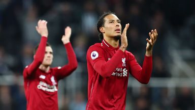 Van Dijk plays down 'greats' comparisons