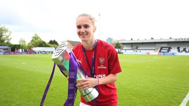 Miedema: Amazing year for Arsenal