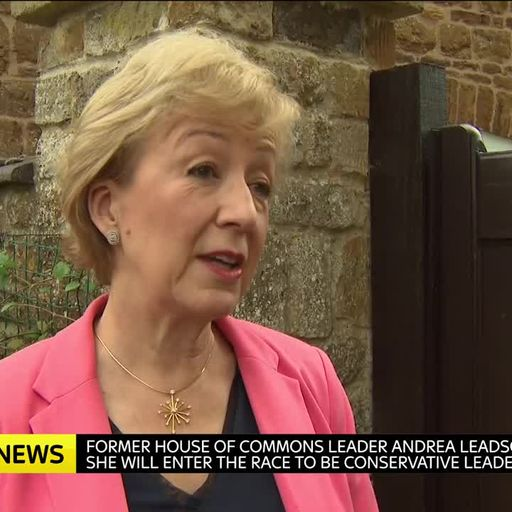 Andrea Leadsom rules out shutting down parliament to push through Brexit