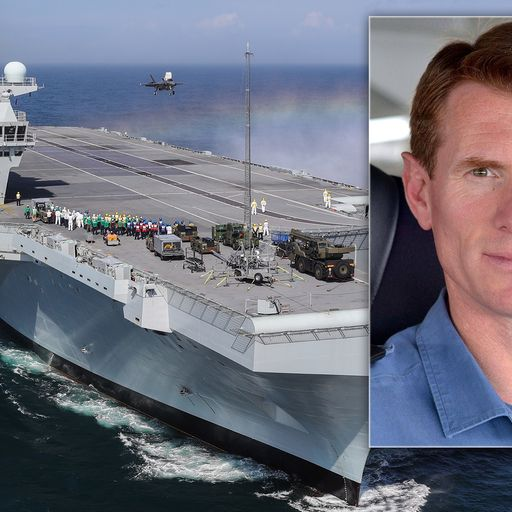 HMS Queen Elizabeth captain sacked for 'using official car at weekends'