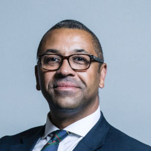 James Cleverly joins race