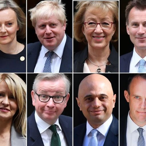 The runners and riders who could replace Theresa May