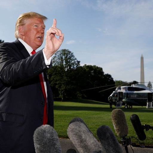 Donald Trump threatens Mexico with 5% imports tariff over illegal immigration
