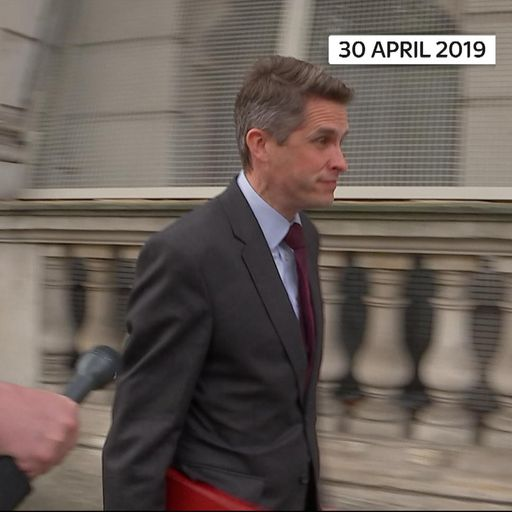 Gavin Williamson: The man who told Russia to 'shut up'