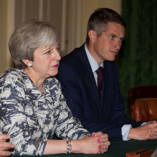 Gavin Williamson sacking 'personal blow' for May