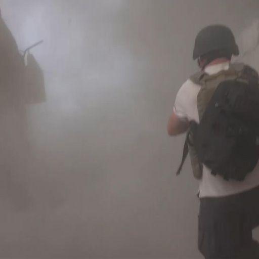 Sky News witnesses horrors of Syria's last rebel outpost