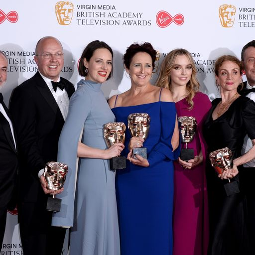 BAFTA TV Awards: Killing Eve wins three gongs as Jodie Comer named leading actress