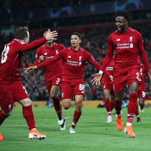Liverpool beat Barcelona 4-0 to reach CL final