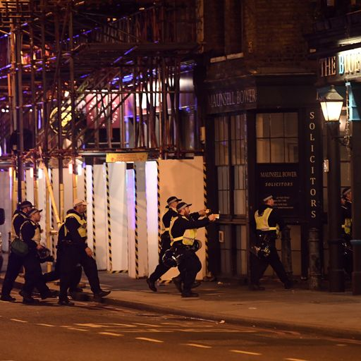 London Bridge inquests: 'Have-a-go hero' threw chair and glasses at attackers
