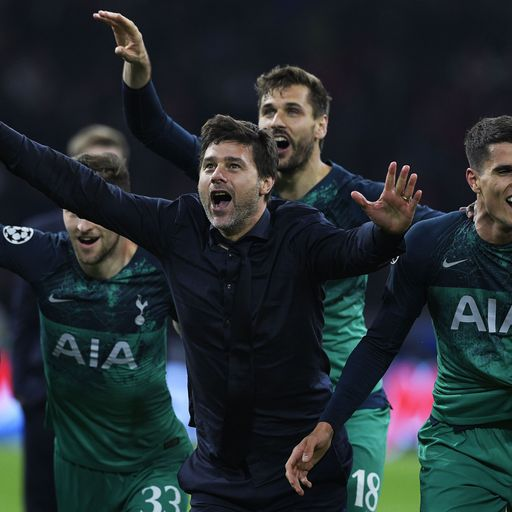 Champions League: All-English final as Spurs beat Ajax