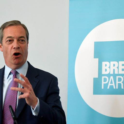 Brexit Party enjoys huge lead in EU election poll