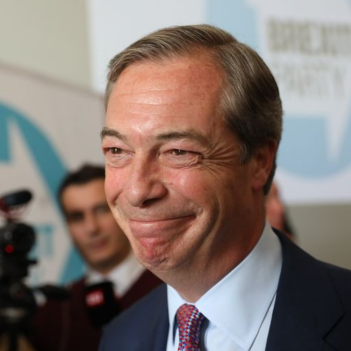 Brexit Party ahead in EU poll