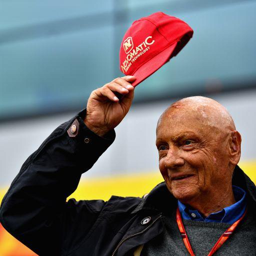 'The biggest comeback in sport': Tributes paid to 'true icon' Niki Lauda