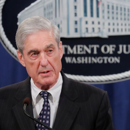 Charging Trump was not an option, says US special counsel Robert Mueller