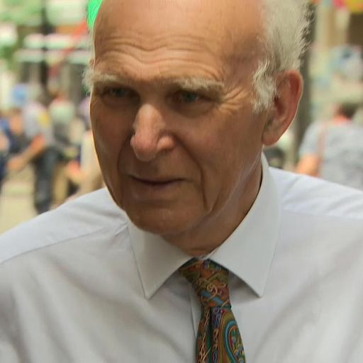 Sir Vince Cable could make it Lib Dem policy to revoke Article 50