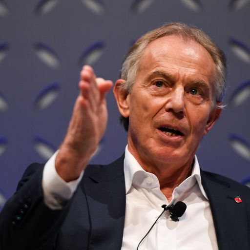 Tony Blair warns a no-deal Brexit would spark a 'silent revolution'