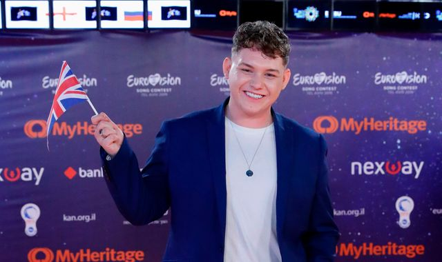 Eurovision: Who is Michael Rice - the UK's act?