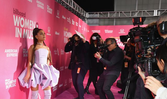 Ariana Grande sued for allegedly uploading photographer's photo of herself to Instagram