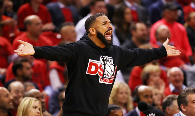 Drake blasted for trolling Giannis Antetokounmpo during Game 4 of Eastern Conference Finals