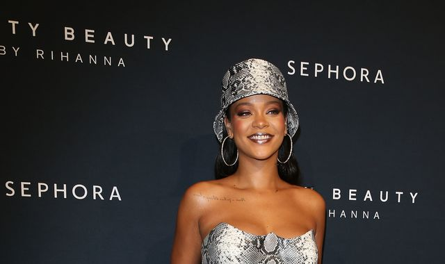 Rihanna reveals she's moved to London - and fans are going wild
