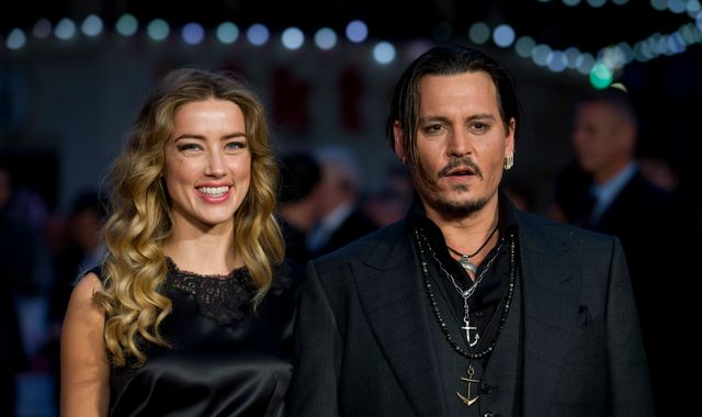 Johnny Depp accuses ex-wife Amber Heard of 'painting on bruises'