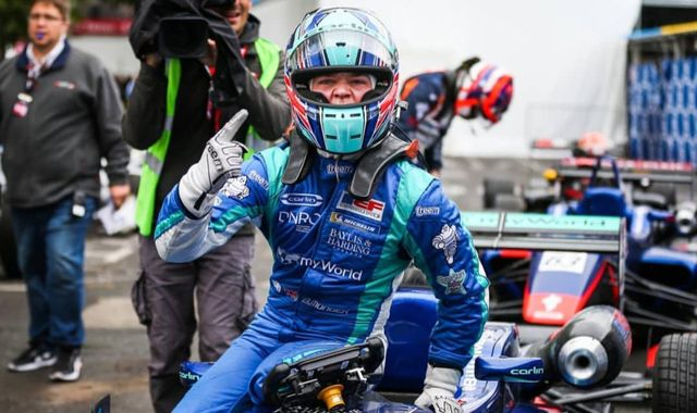 Billy Monger secures first GP win since near-fatal crash cost him both his legs
