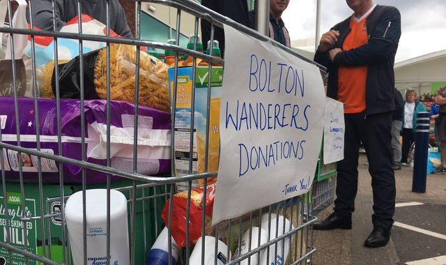 Bolton Wanderers: Food bank steps into feed unpaid staff