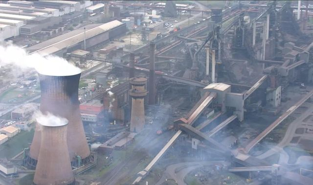 'No stone unturned' to support British Steel amid collapse fears, says government
