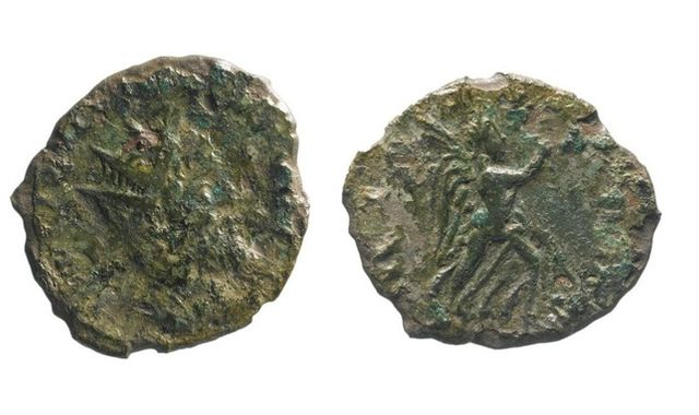 Rare Roman coin found in Cambridgeshire during road improvement works