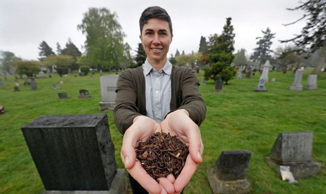 Human composting as an alternative to burial or cremation signed into law in Washington