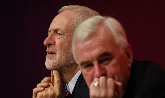John McDonnell tells Jeremy Corbyn Labour Brexit policy a 'car crash'