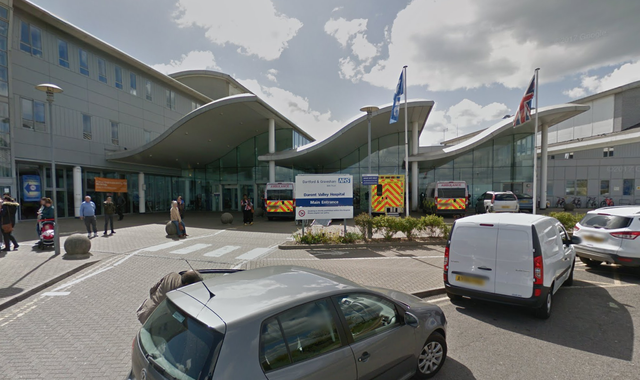 Kent police search for mother of newborn baby found abandoned at hospital entrance