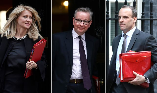 Michael Gove joins race for Tory leadership as rivals vow to keep no-deal Brexit on table
