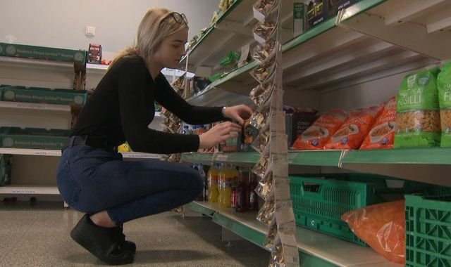 Growing demand for food banks 'a human rights failure'