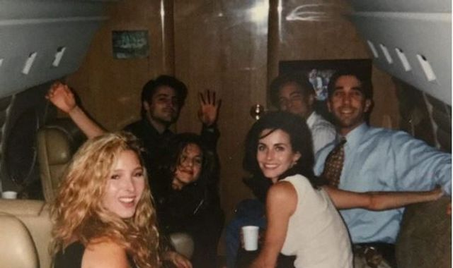 Courteney Cox picture: Friends actress shares photo of cast before show aired