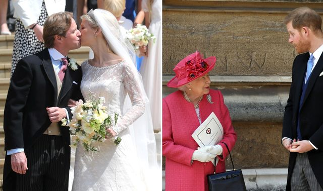 Sealed with a kiss: Lady Gabriella Windsor marries in front of Royal Family