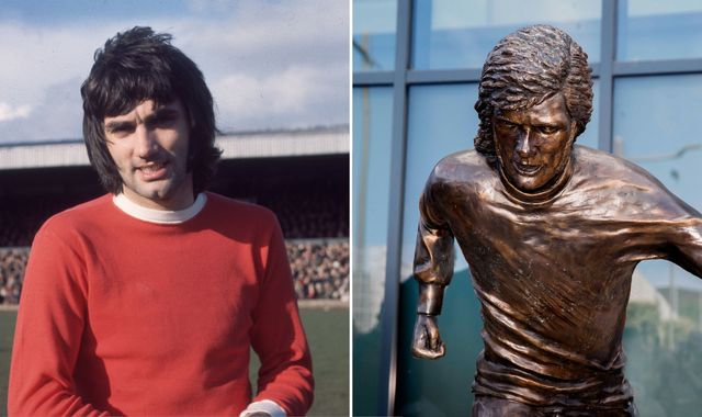 George Best: Fans mock statue of Northern Ireland football legend